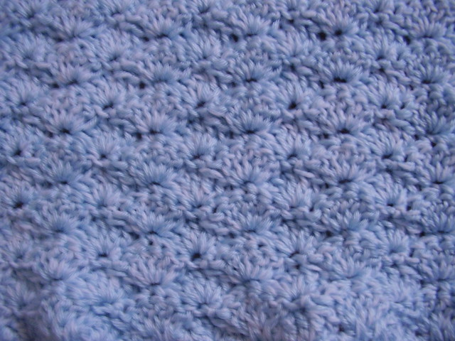 Knit Shell Stitch Baby Blanket : Shell stitch baby blanket Flickr - Photo Sharing!
