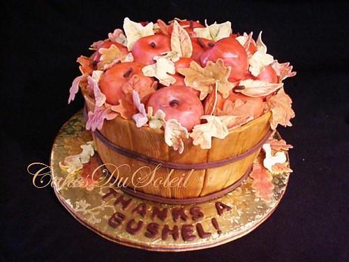 Bushel Basket Cake