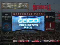 GEICO Presidents Race