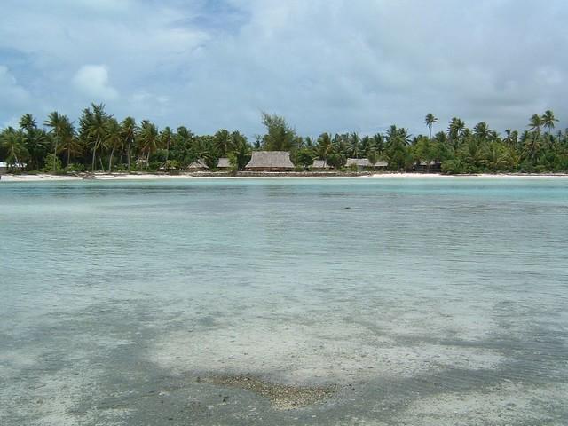 Tarawa lagoon