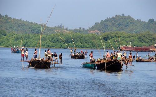 Goa - River desilting