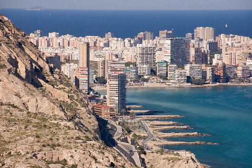 Incredible view of Alicante.