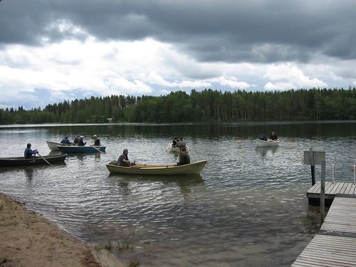 fishing kalastus isojoki siiansoutu kangasjärvi