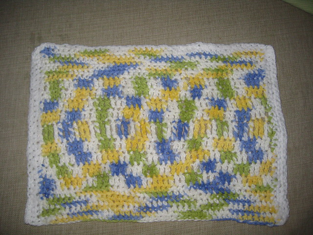 Ravelry: Vintage-Look Towel, Dishcloth & Scrubbie Pattern pattern
