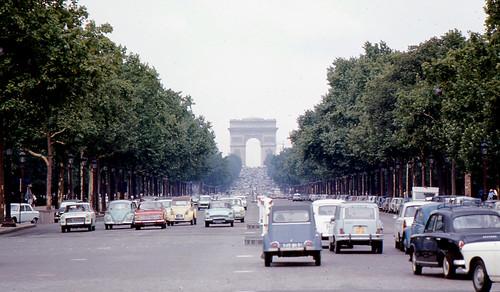 Paris - Champs-Élysées (1968) from Roger Wollstadt