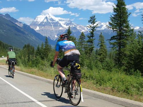 Mt Robson riders