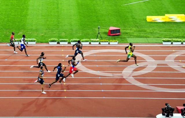 Unheard of...  Usain Bolt