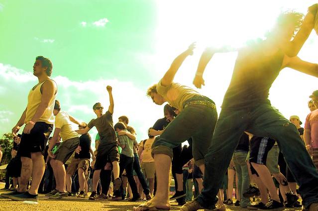 hardcore dancing :]