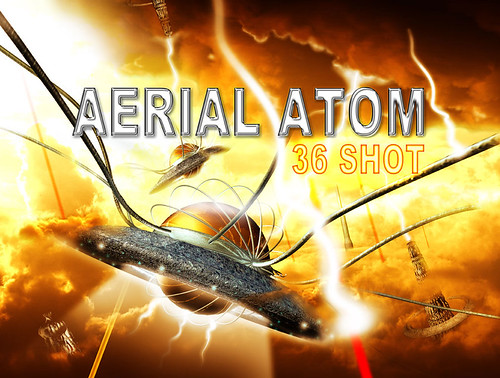 Epic Fireworks - Aerial Atom Barrage, rare 36 shot version