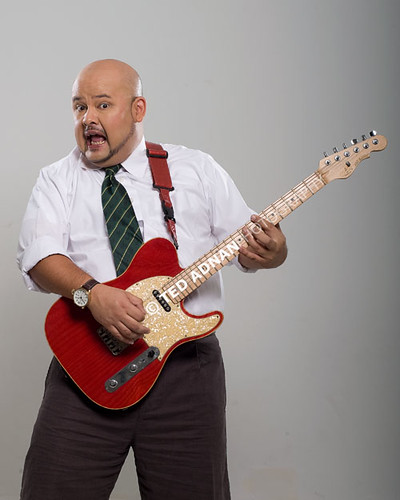 Harith Iskander werking it!