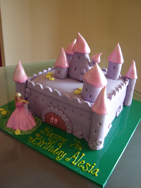 Barbie Castle Cake Images : Cake 8 - a gallery on Flickr