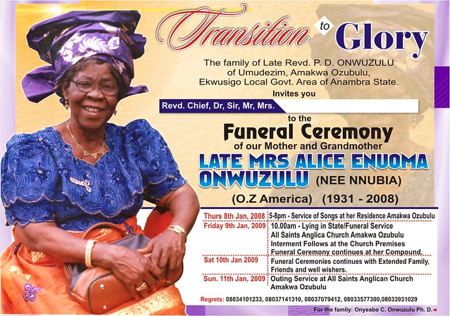 This Funeral Invitation Or Announcement Card Would Be A Touching Tribute To  Your Loved 15 Funeral Invitation Templates ...  Funeral Invitation Templates