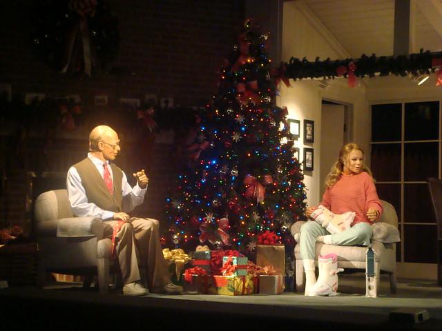 Carousel of Progress - Christmas scene