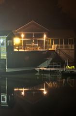 Lake Johnson boat house