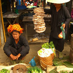 Veggies and Rice Cakes - Inle Lake, Burma