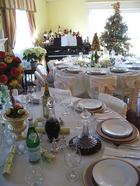 Christmas Dinner Table Settings Flickr Photo Sharing