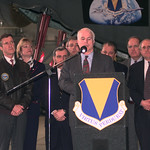 Operation Allied Force - Kosovo - Official Department of Defense Image Archive - United States Secretary of Defense William Cohen and Senator John McCain 10000153