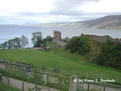 Inverness [GB], 2004, Il Castello di Urquhart sul Loch Ness.
