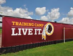 Redskins Training Camp in Ashburn VA