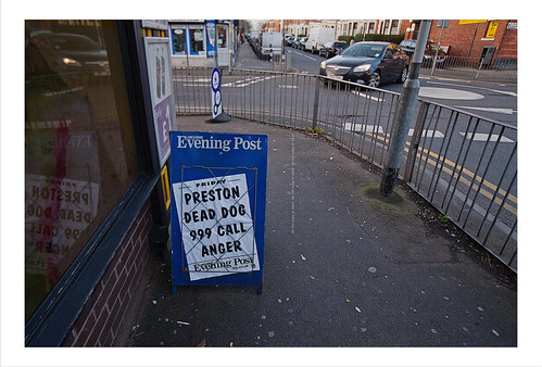 #Preston Dead Dog Woman 999 Call Anger - It's all kicking off !