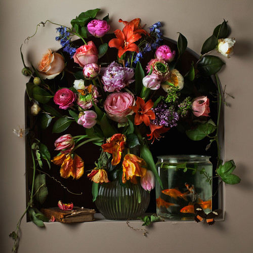 Paulette Tavormina, Flowers & Fish I, after G.V.S. (from the series Flowers, Fish & Fantasies), 2012