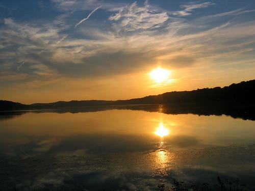Energy Lake Sunset