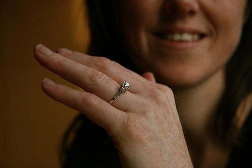 Lakshmi's Engagement Ring