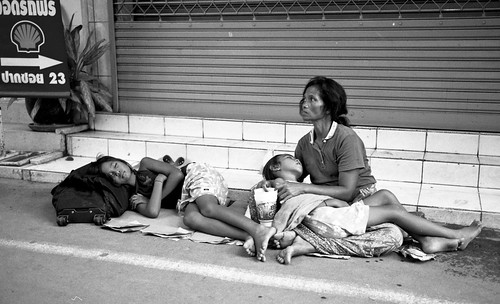 The Family Shell - street, Bangkok
