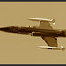 Starfighter in Sepia