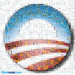Obamosaic - Mosaic of Obama T-Shirts