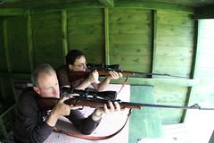 soldier(0.0), weapon(1.0), shooting sport(1.0), shooting(1.0), shooting range(1.0), firearm(1.0), gun(1.0),