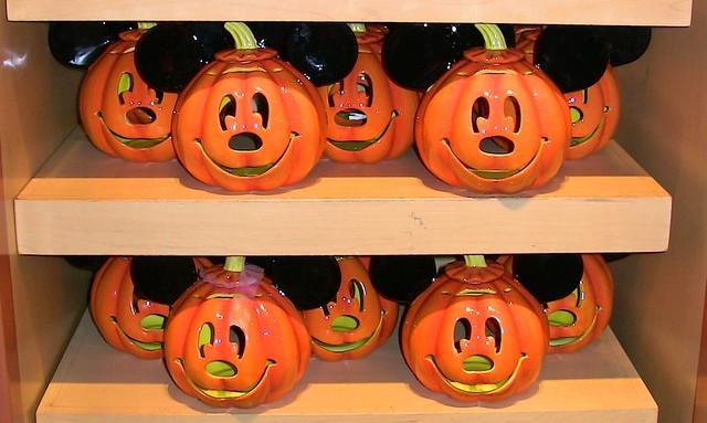 Mickey Mouse Jack O' Lanterns
