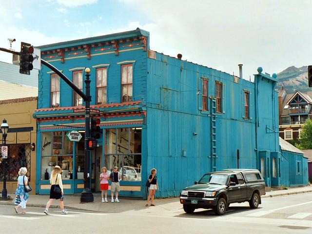 Historic Corner Building Breckenridge Colorado Flickr