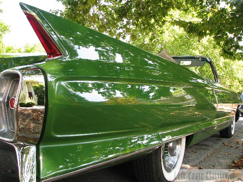 1962 Cadillac Convertible Close-Up