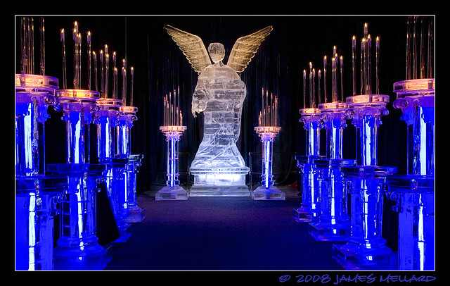 Ice Angel Sculpture
