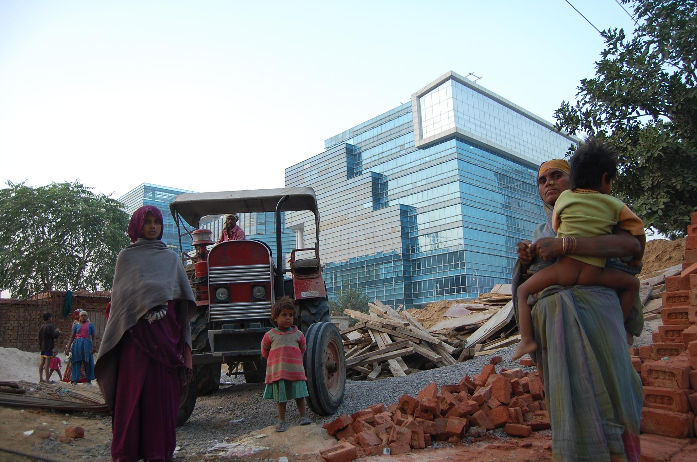 Gurgaon: Manhattan z przypadku. globalna metropolia powstała na pustyni w dekadę