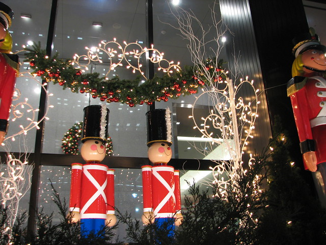 Toy soldiers christmas decorations new york city ny 9 for When does new york start decorating for christmas