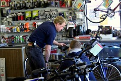 bicycle mechanic, vehicle, sports equipment, cycling, bicycle,