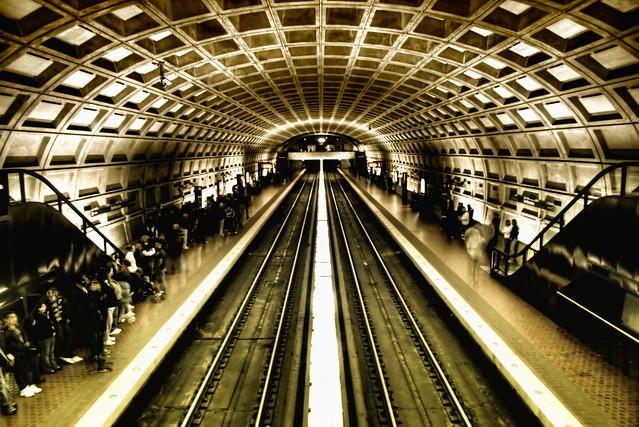 Washington D.C. Subway HDR