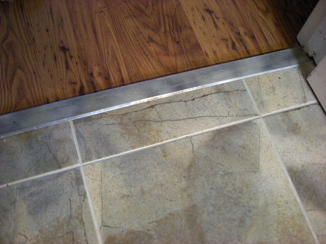 Kitchen Floor Transitions Detail