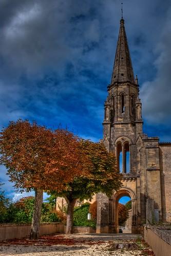 Le marronnier de l'église