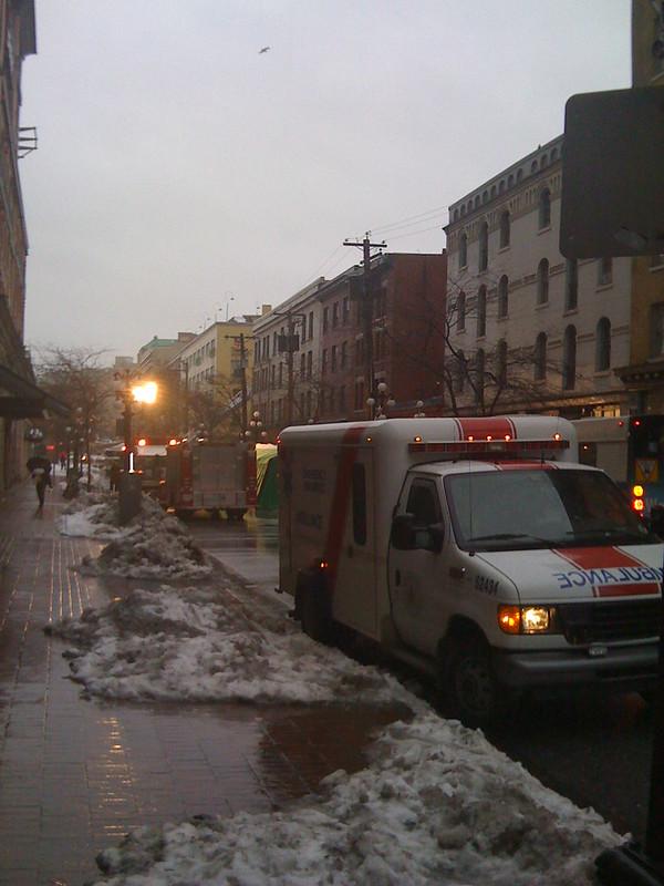 Fire at Incendio - Ambulance