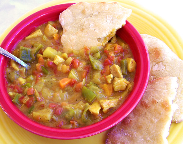 Mulligatawny with Naan