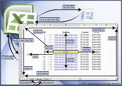 Excel & OpenOffice Calc navigation shortcuts by Till Zoltán