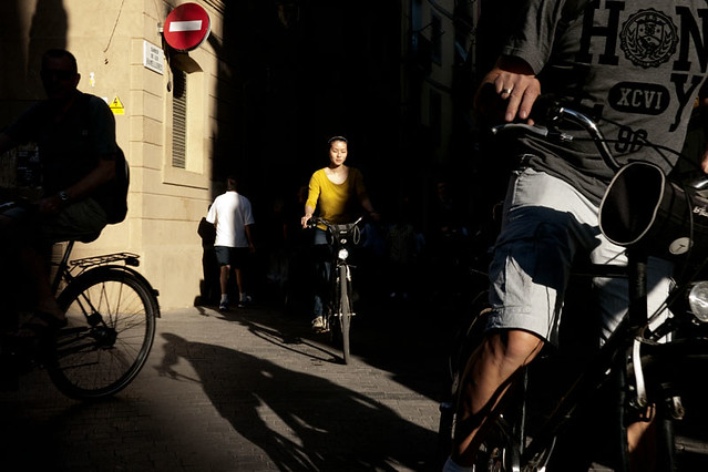 The bikes - Fantastic Color Street Photographs