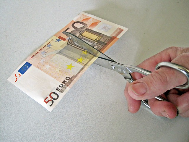 50 Euro Note Cut from Flickr via Wylio