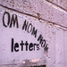 Om Nom Nom Letters by TagThis
