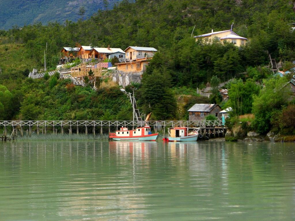 Viaje a la Patagonia Chilena - Caleta Tortel