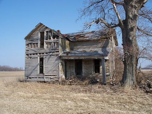 OH Wyandot County - Abandoned House