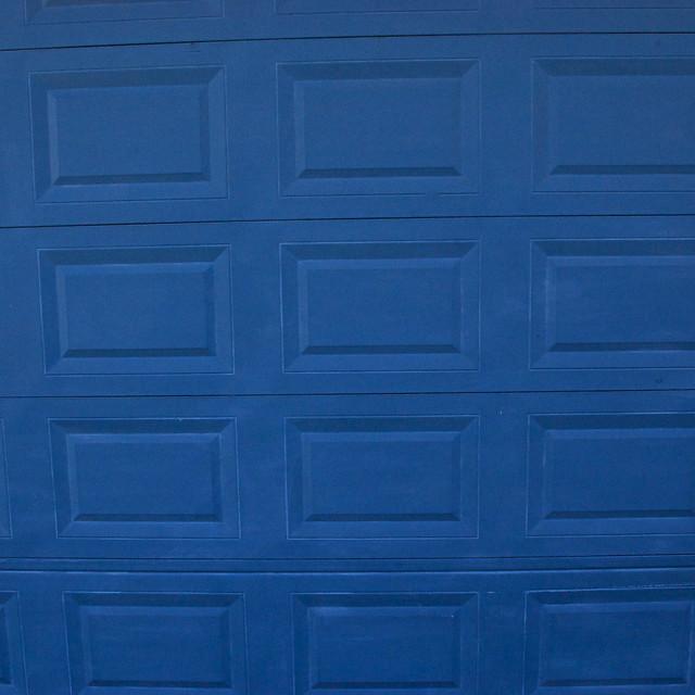 Navy Blue Garage Door Home Design Ideas, Pictures, Remodel and